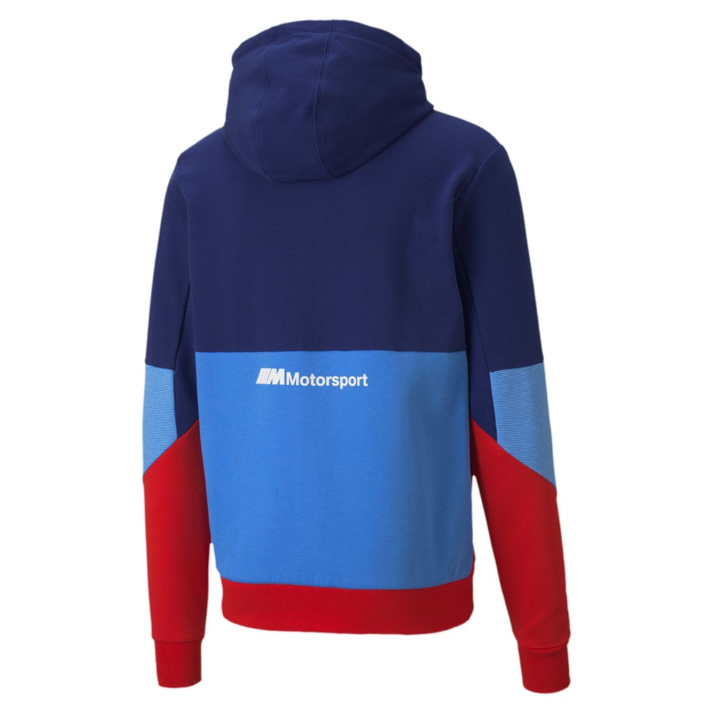 BMW MMS HoodedSweat Jacket ffi felső Marina-Blueprint-High Risk Red