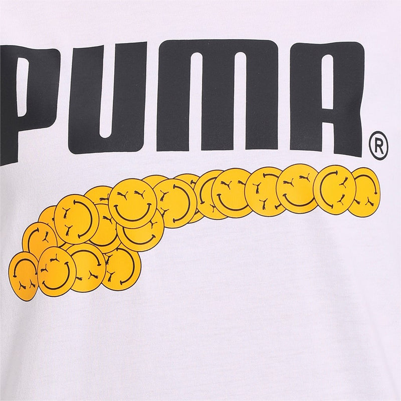 Puma Club Graphic Tee unisex póló Puma White