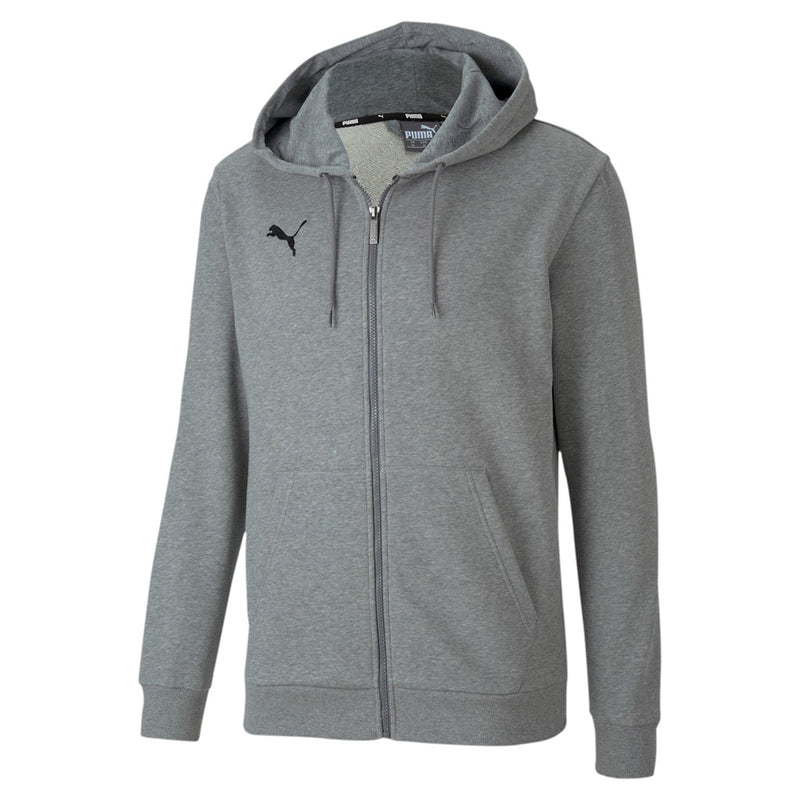 teamGoal 23 Casuals Hooded Jacket Medium Gray Heather