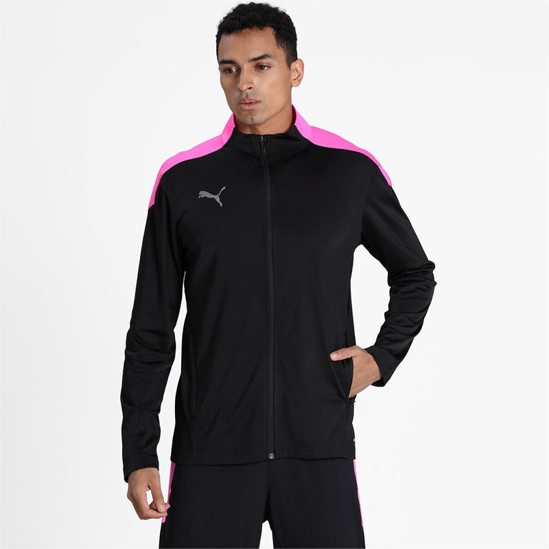 ftblNXT Track Jacket Puma Black-Luminous Pink