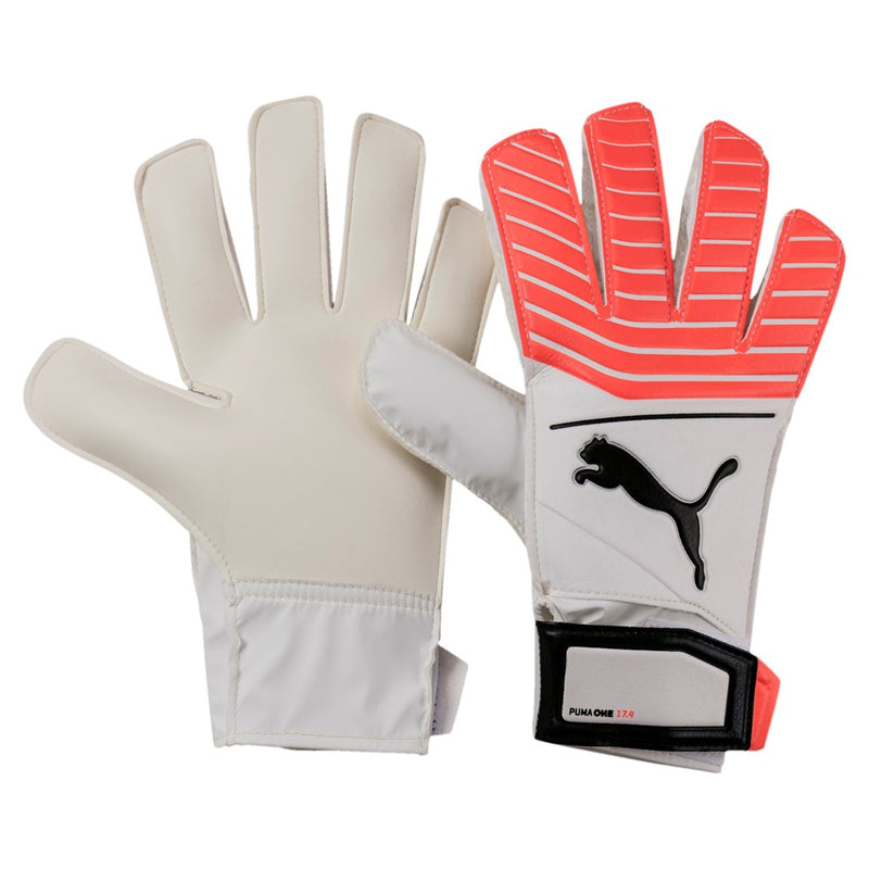 Puma ONE Grip 17.4 Junior kapus kesztyű Puma White - Puma Black - Puma Orange - Teamsport & Lifestyle