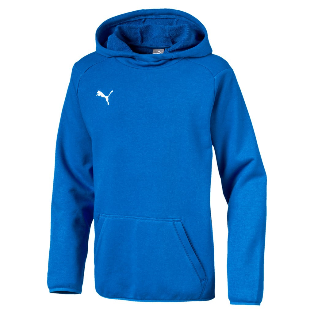 LIGA Casuals Hoody Jr pulóver Electric Blue Lemo - Teamsport & Lifestyle