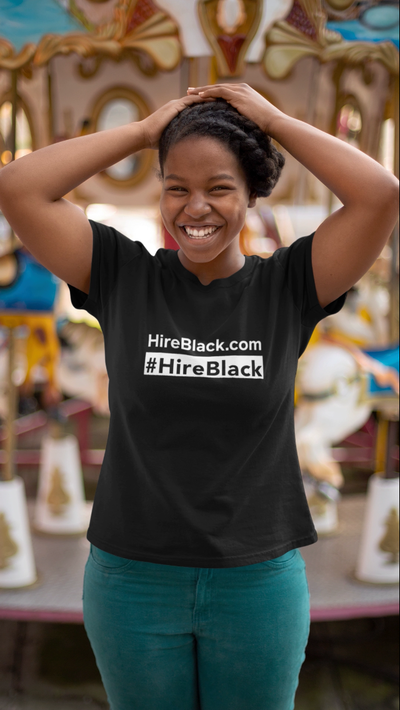 #HireBlack Short-Sleeve Unisex T-Shirt
