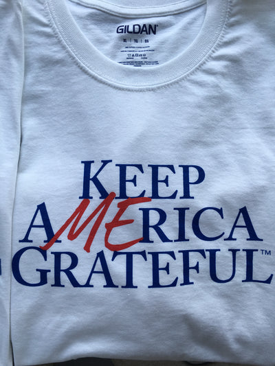 Keep America Grateful 2.0 White T-shirt