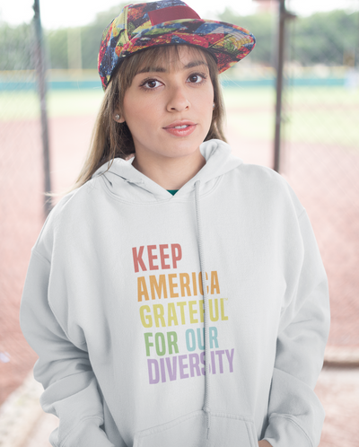 Keep America Grateful Hoodie White