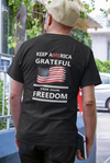 Grateful for our Freedom Short-Sleeve Unisex T-Shirt