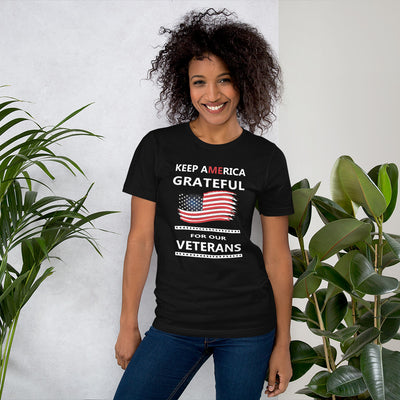 Keep America Grateful for our Veterans T-shirt