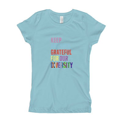 Girl's Colorful Diversity T Shirt