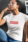 Women's Grateful White T-shirt