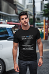 Grateful for Veterans Black Short-Sleeve Unisex T-Shirt