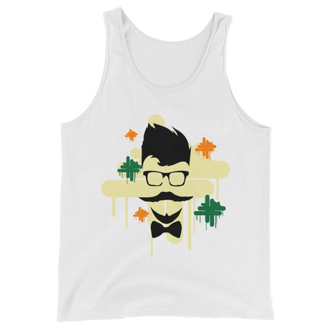 Bearded Design Tank Top
