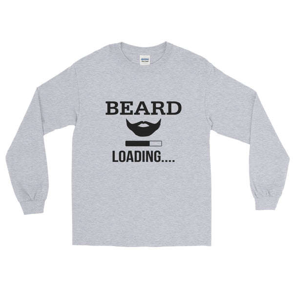Beard Loading Long Sleeve T-Shirt