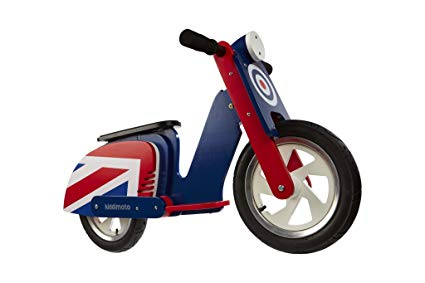 Retro Brit Pop Scooter Balance Bike