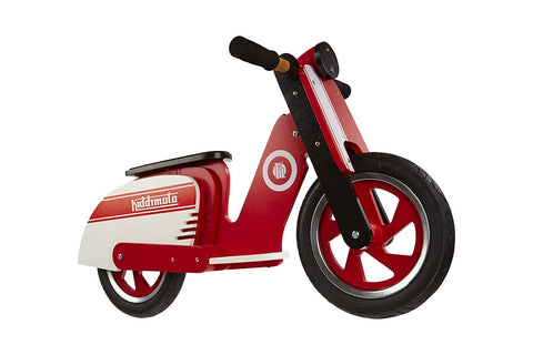 Retro Red Scooter Balance Bike