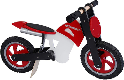 Scrambler Balance Bike - Red and White Design