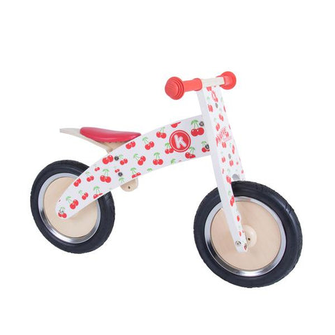 Kurve Wooden Balance Bike - Cherry