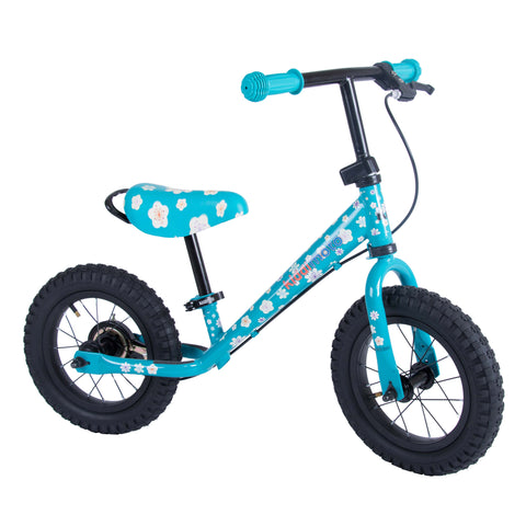 Super Junior Max Metal Balance Bike - Fleur