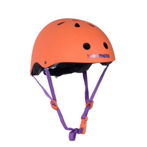 Matte Orange Bicycle Helmet