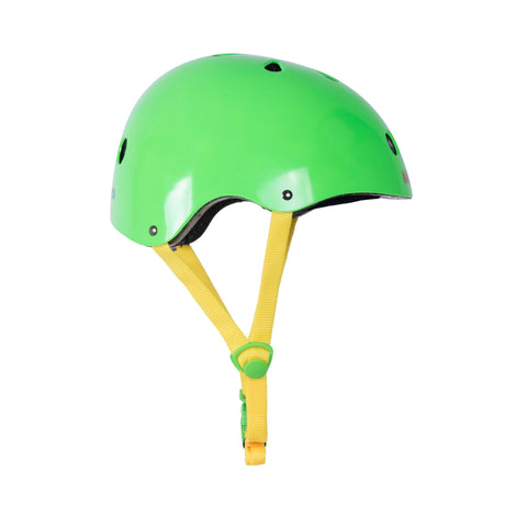 Neon Green Bicycle Helmet