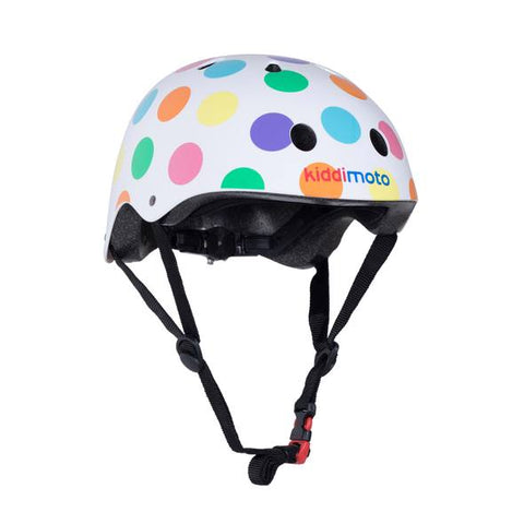 Pastel Dotty Bicycle Helmet
