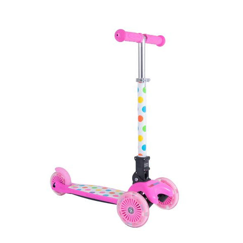 Pastel Dotty U-Zoom Scooter