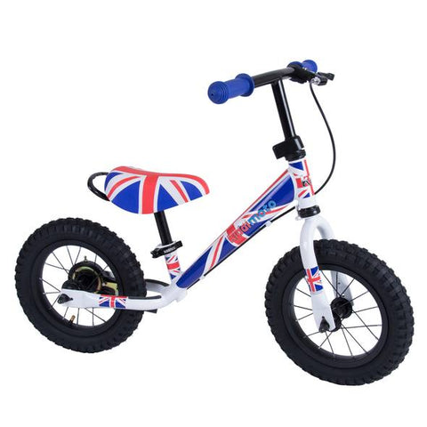 Super Junior Max Metal Balance Bike - Union Jack