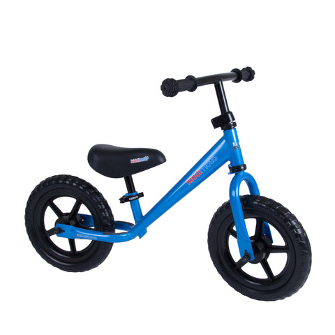 Super Junior Metal Balance Bike - Blue