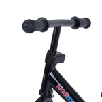 Super Junior Metal Balance Bike - Black