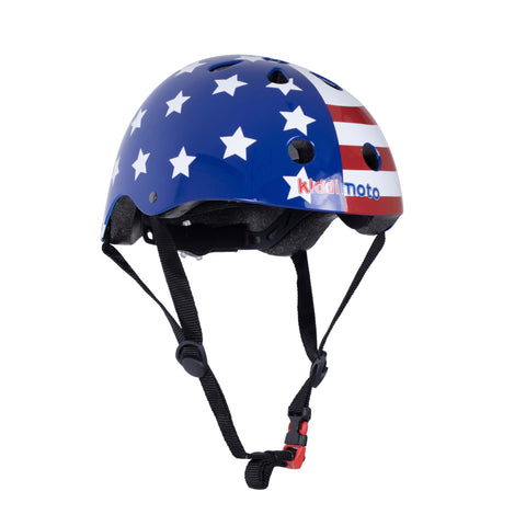 USA Flag Bicycle Helmet