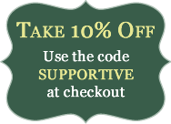 Take 10% Off: Use the code SUPPORTIVE at checkout.
