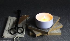 100% Soy Best Selling Unisex Fragrant Candle 6 oz - AMBRE