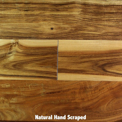 Acacia Smooth & Hand Scraped