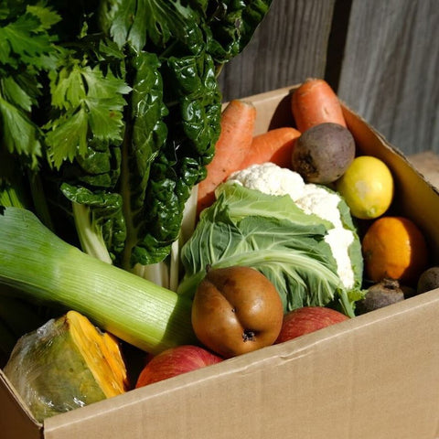 Large Box of Seasonal Vegetables