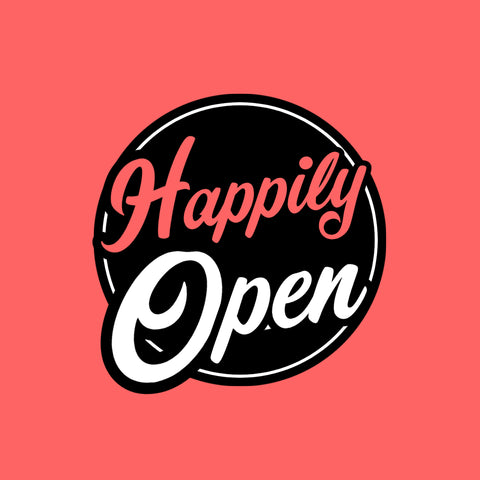 Happily Open for Business