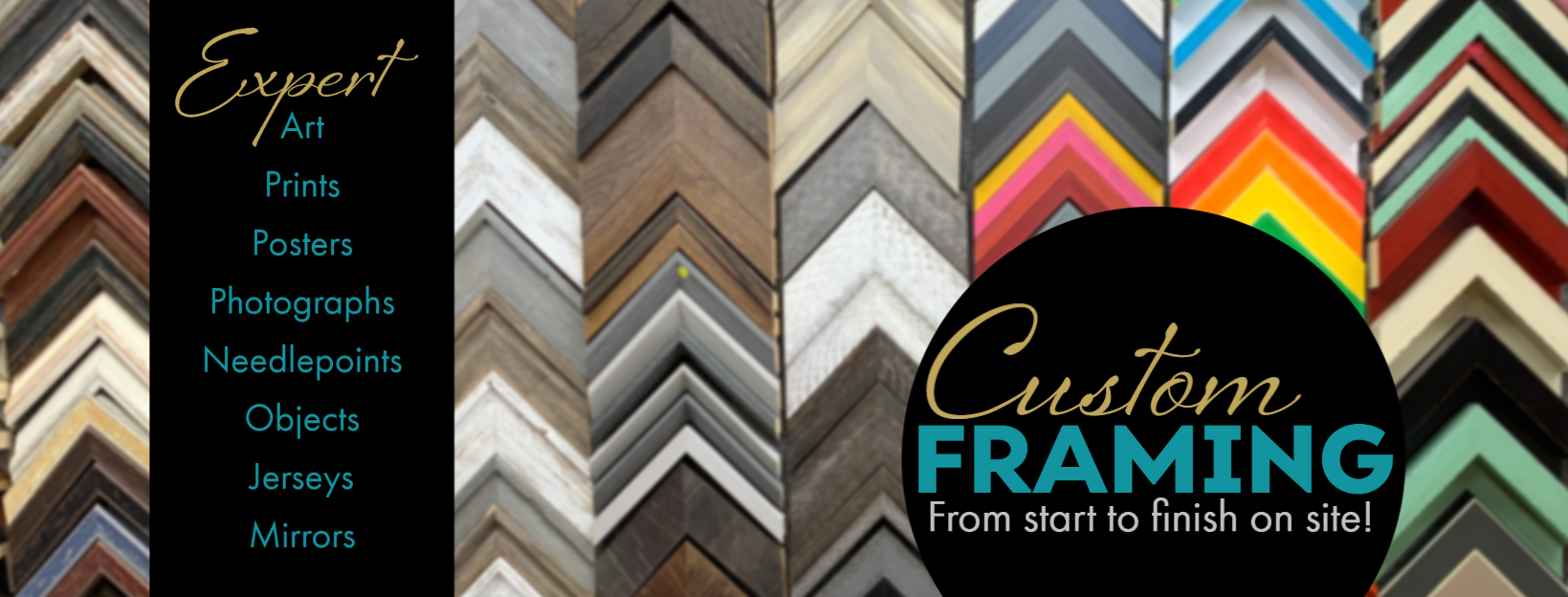 Professional Custom Framing