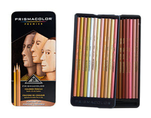 Prismacolor Premier Coloured Pencil Portrait Set 24