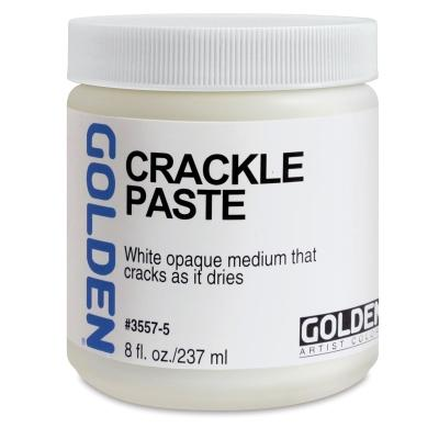 Golden 8oz Crackle Paste