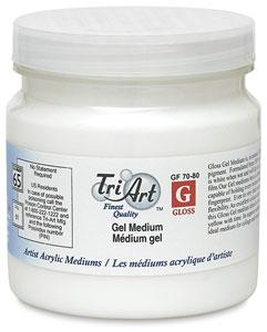 Tri-Art Gel Medium Gloss 250ml