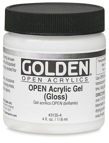 Golden 4oz Open Acrylic Gel Gloss