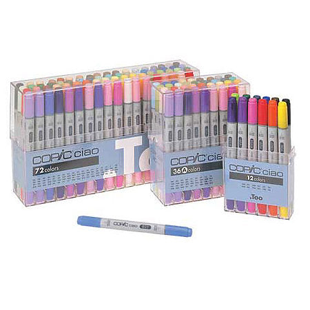 COPIC Ciao Markers Basic Set/12