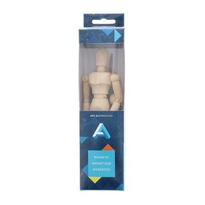 "Art Alternatives Artist's Magnetic Manikin 8"" Male"