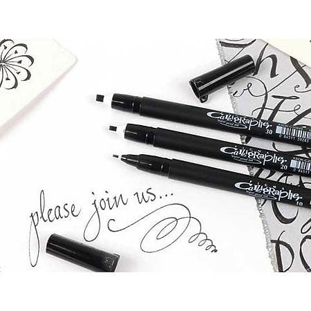 Sukura Pigma Calligrapher Pens Black 3mm