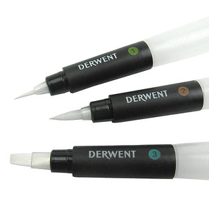 Derwent Waterbrush Multi-Pack Set 3pk