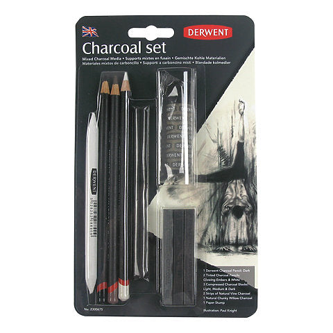 Derwent Charcoal Set Mixed