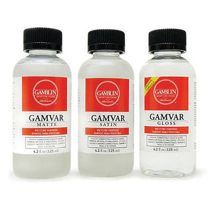 Gamvar Picture Varnish 250ml Satin