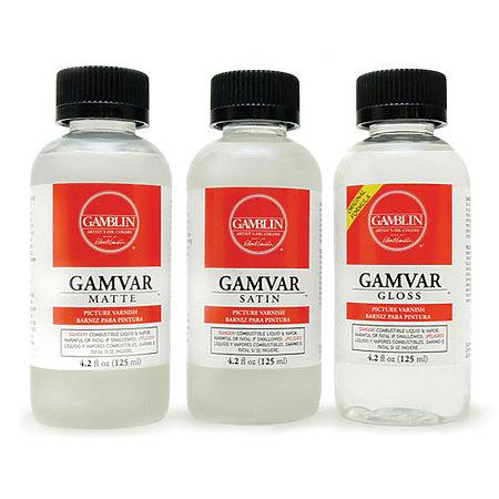 Gamvar Picture Varnish 500ml Satin
