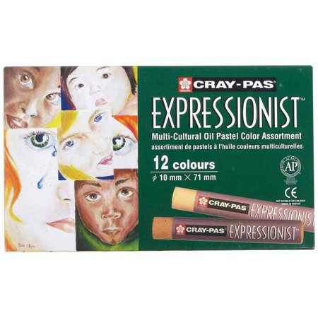 Cray-Pas Expressionist Oil Pastel Multicultural