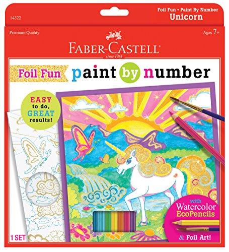 Faber-Castell Foil Fun by Number Unicorn Set