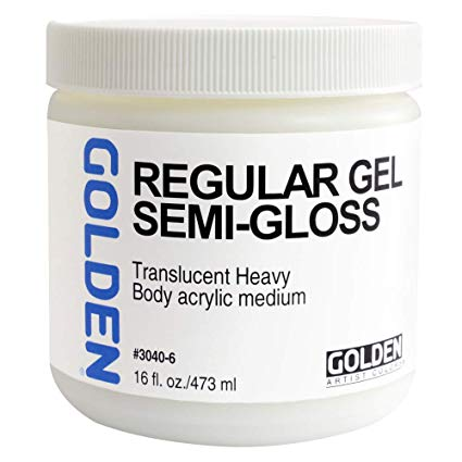 Golden 16oz Regular Gel Semi