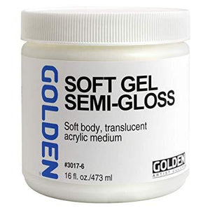 Golden 16oz Soft Gel Semi-gloss